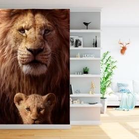 Vinili murali il re leone