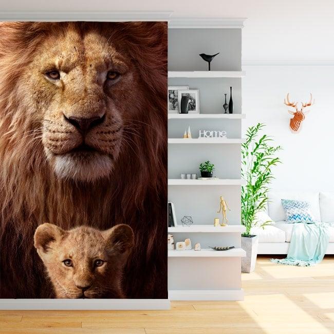 Carta da parati il re leone