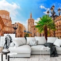 Murali in vinile piazza santa maria di valencia