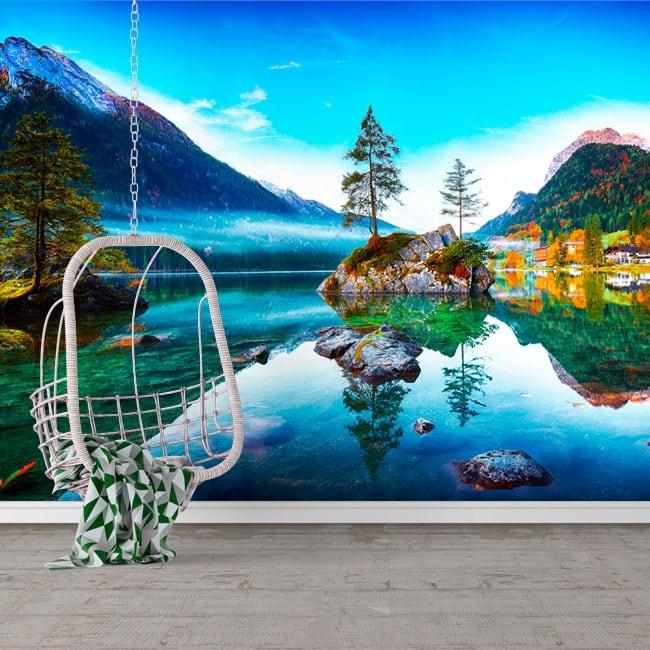 Murales in vinile germania alba lago di hintersee
