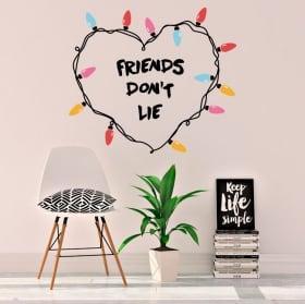 Adesivi e vinile cose più strane gli amici non mentono
