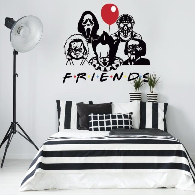 Vinile decorativo e adesivi netflix friends