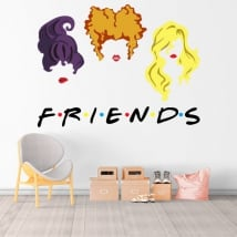 Adesivi in vinile netflix friends