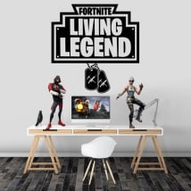 Vinile e adesivi fortnite living legend