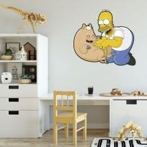 Vinile e adesivi homer simpson