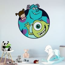 Vinile e adesivi disney monsters university
