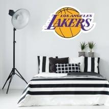 Vinile e adesivi logo los angeles lakers pallacanestro