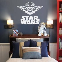 Vinile decorativo e adesivi yoda star wars