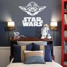 Vinile decorativo e adesivi yoda star wars