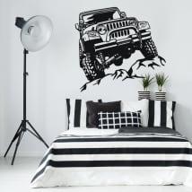 Vinile decorativo e adesivi jeep offroad