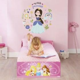Vinyls e adesivi per bambini con le principesse