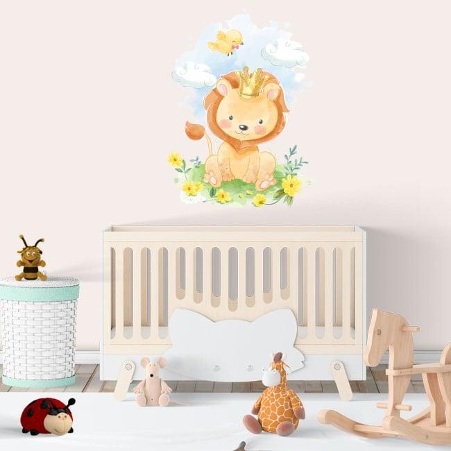 Vinili e adesivi per bambini o neonati il re leone