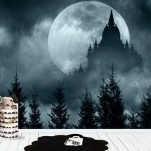 Murali in vinile luna piena