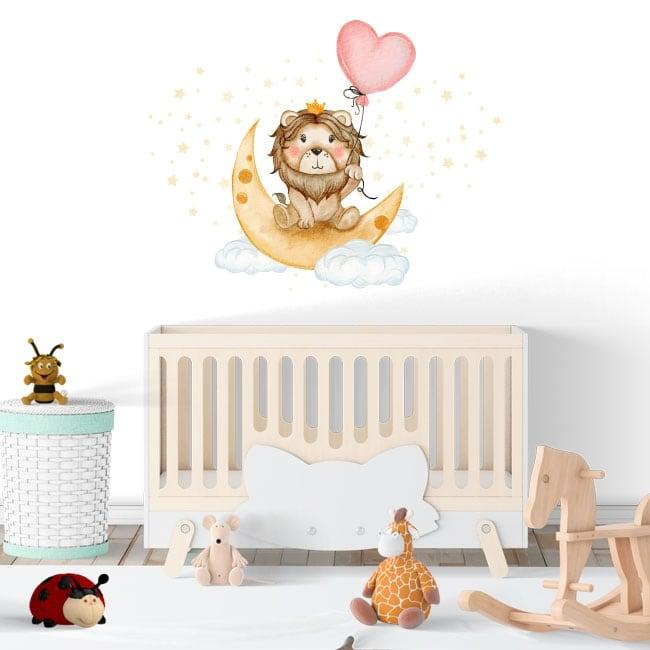 Vinili e adesivi per bambini il re leone sogni d'oro