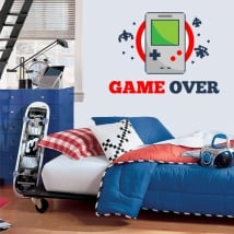 Vinile video gioco game over