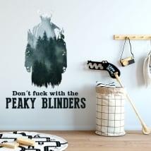 Decalcomanie della parete peaky blinders