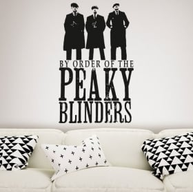 Vinile decorativo serie tv peaky blinders