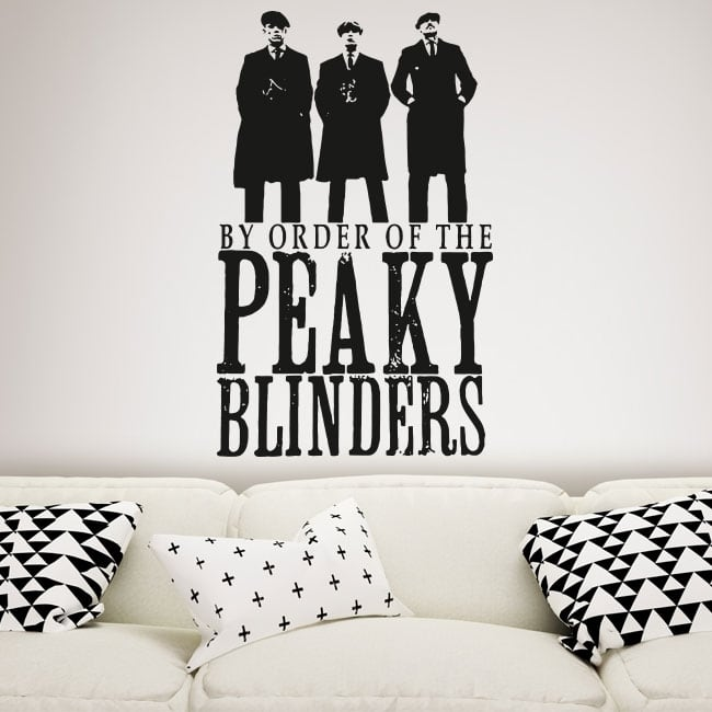 Vinile decorativo serie tv peaky blinders