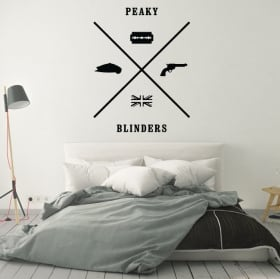 Vinile decorativo peaky blinders