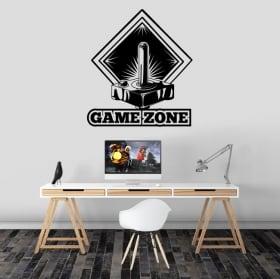 Vinili e adesivi video gioco gorilla gaming