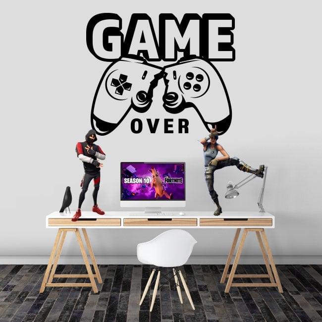 Adesivi videogioco gioco finito