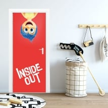 Adesivi per porte disney inside out