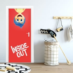 Adesivi per porte disney inside out