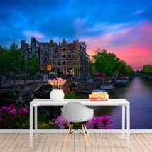 Fotomurali caffè papeneiland amsterdam