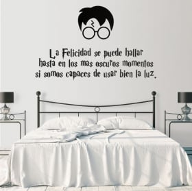 Vinili decorativi e adesivi frase harry potter