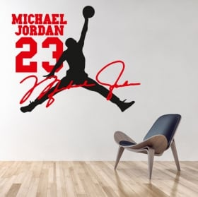 Vinili decorativi michael jordan nba