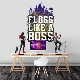 Vinili fortnite floss like a boss