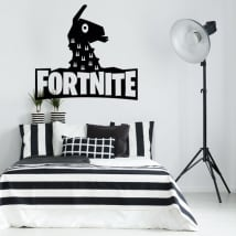 Vinili decorativi llama da fortnite