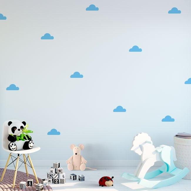 Vinili e adesivi per bambini kit cloud