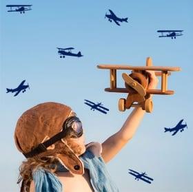Vinili decorativi e adesivi kit aerei