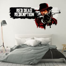 Vinili e adesivi videogioco red dead redemption