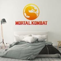 Vinili e adesivi video gioco mortal kombat