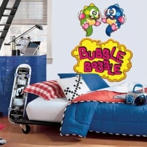 Vinili e adesivi video gioco bubble bobble