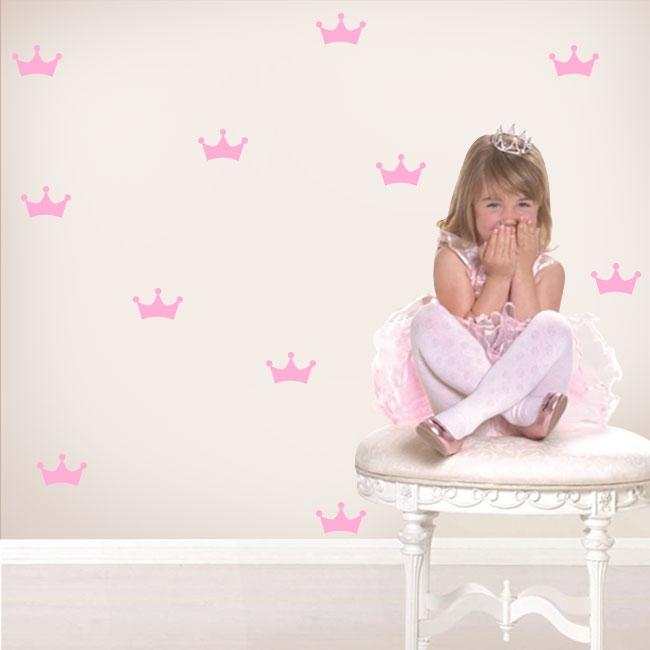 Vinili e adesivi per bambini kit corona principessa