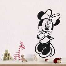 Vinile e adesivi disney minnie mouse
