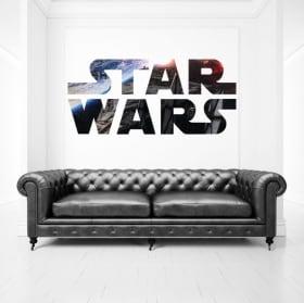 Vinile decorativo e adesivi logo di star wars
