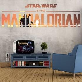 Vinili e adesivi star wars the mandalorian
