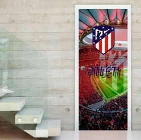 Vinili per porte wanda metropolitano stadio atletico madrid
