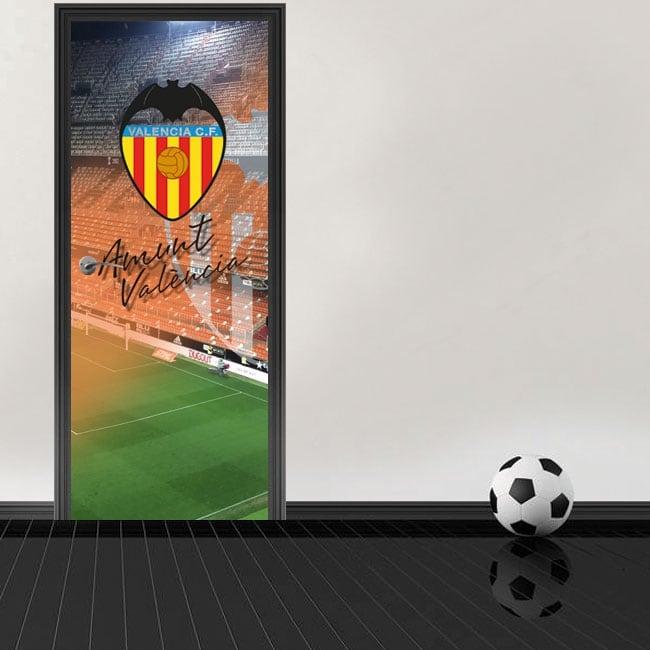 Vinile per porte stadio mestalla valencia football club