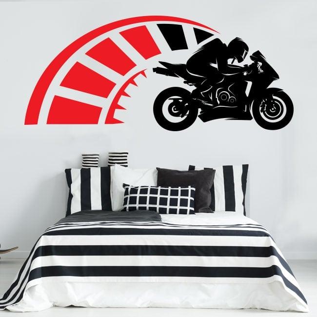 Adesivi e vinili decorativi motogp