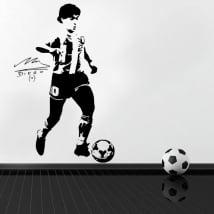 Vinili decorativi e adesivi calcio maradona