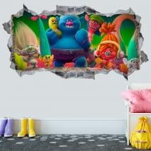 Vinili e adesivi trolls 3d
