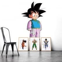 Adesivi vinili decorativi dragon ball