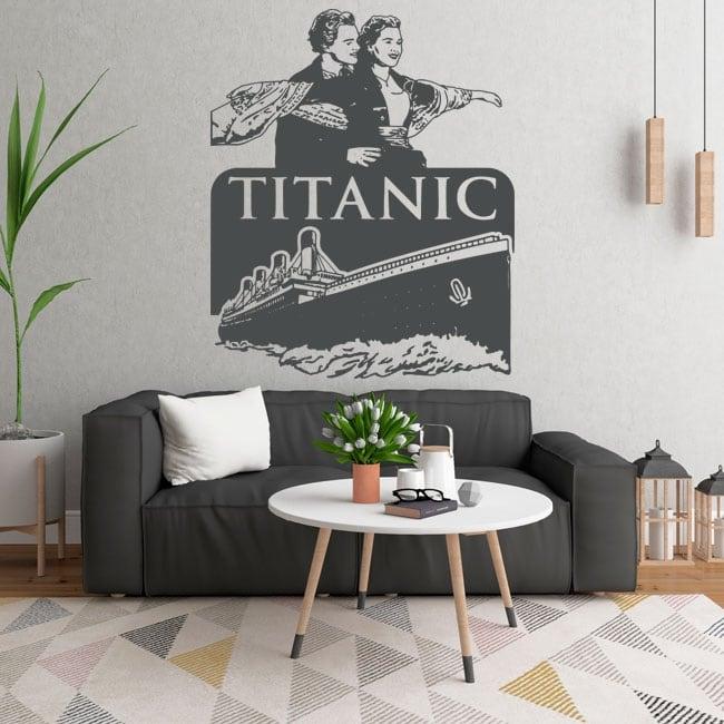 Vinili decorativi e adesivi del titanic