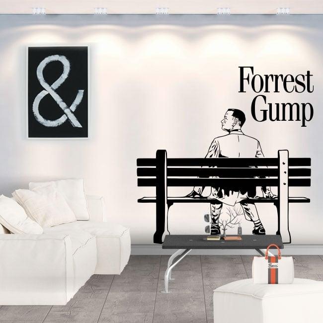 Vinili decorativi e adesivi forrest gump