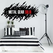 Vinili decorativi e adesivi videogioco metal gear
